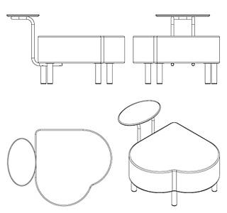 Industrial design metal mobil divano catena design for Industrial design services